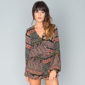 Show Me Your MuMu Rocky Romper Lovely Paisley